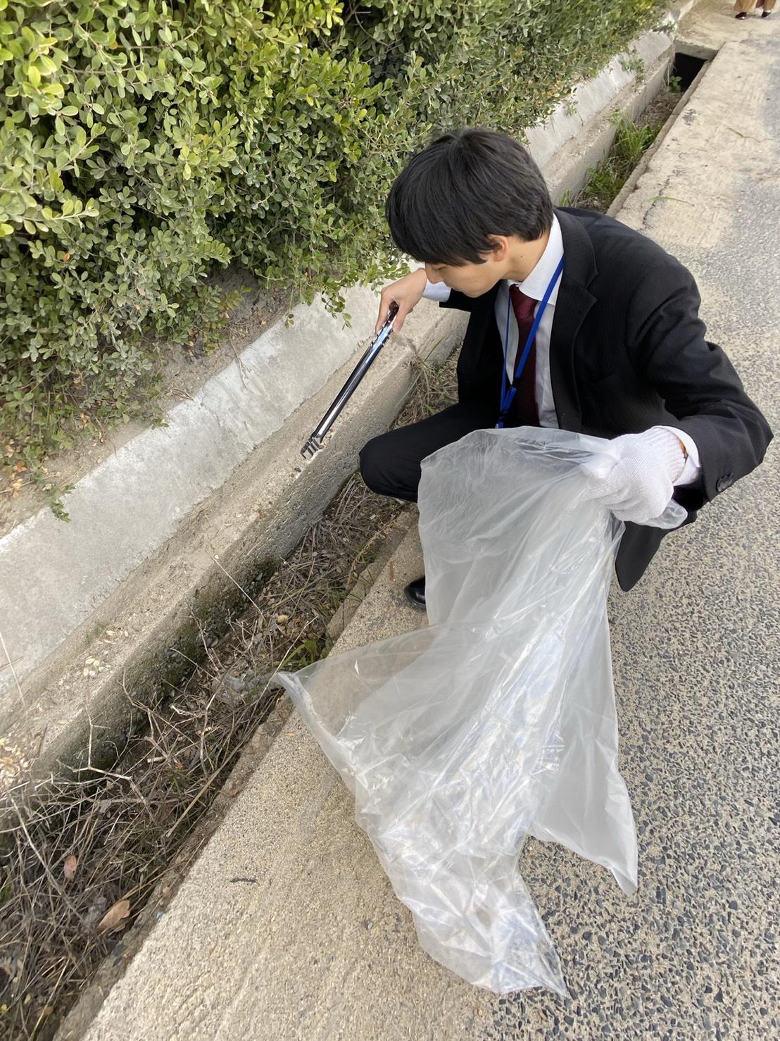 11月 児島湾周辺の 清掃活動